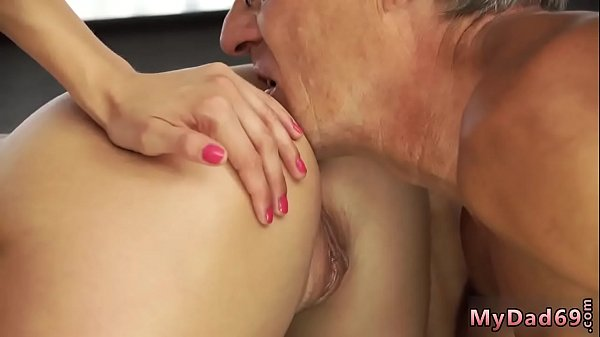 Father, First time anal, Old anal