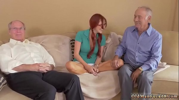 Old man, Old anal, First time