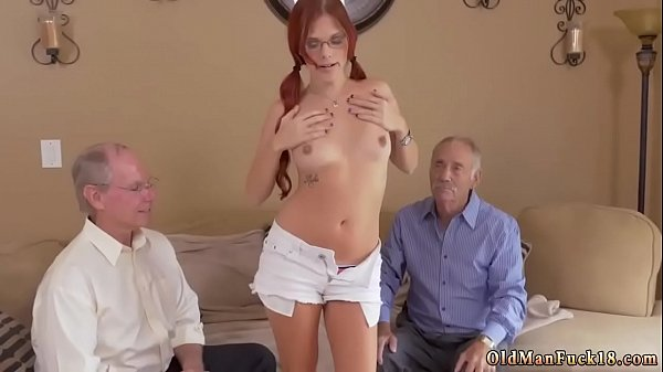 Old man, First time, First anal, Old anal