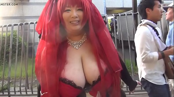 Woman, Japanese tits