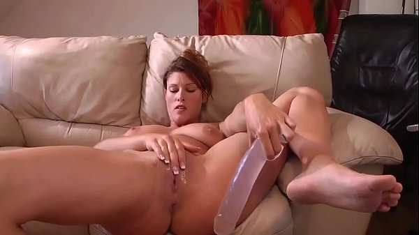 Squirt, Huge dildo