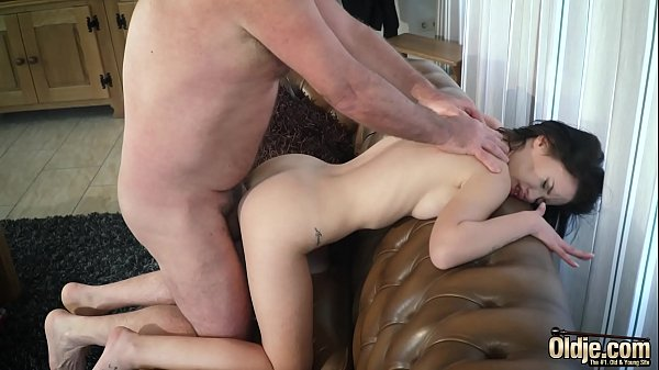 Grandpa, Young and old, Old and young, Teen pussy, Shaved, Old fuck young