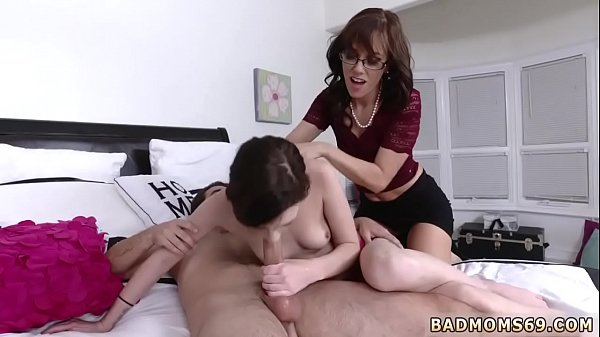 Pale, Milf mom, Blonde mom