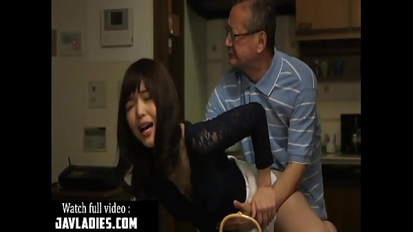 Father, Japanese father, Father in law, In law, Japanese babe, Japanese video