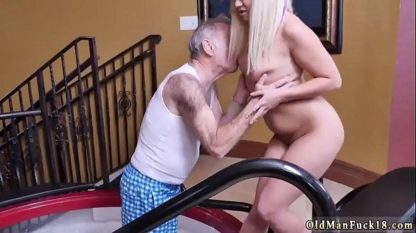 Daddy, Rough, Old anal, Cum inside