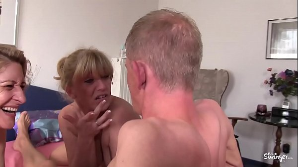 Swinger, Mature threesome, Amateur mature