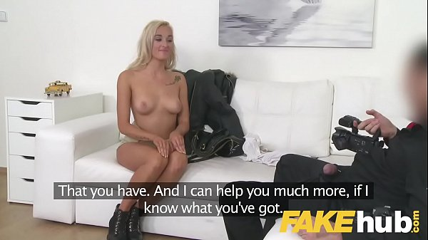 Fake agent, Fake tits, Casting couch
