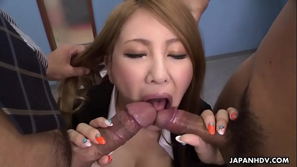 Office, Asian threesome