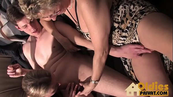 Grannies, Wife threesome, German granny